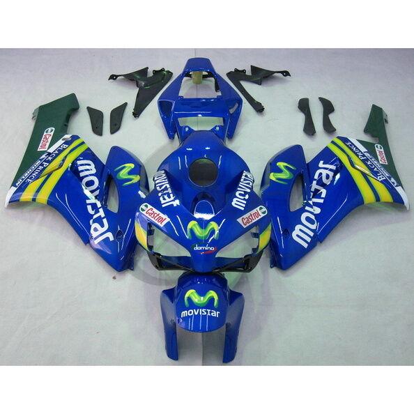 Blue Injection ABS Fairing Bodywork Kit For Honda CBR1000RR 1000 RR 2004 2005
