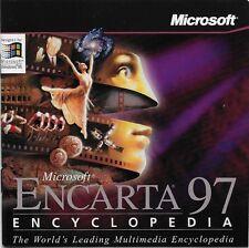 Encarta 97 Encyclopedia Microsoft Platform : Windows 1995