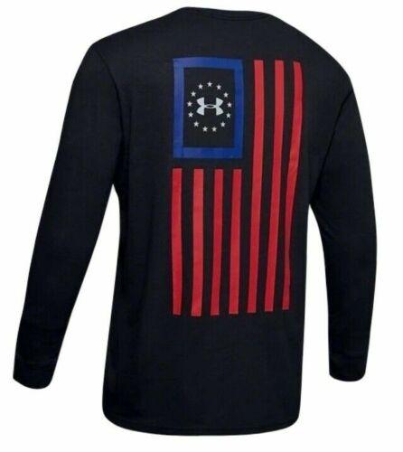 Under Armour 1343565 Men/'s Athletic UA Freedom New Flag T-Shirt Long Sleeve Tee