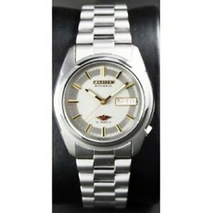 Citizen-Classic-Automatic-Men-039-s-Stainless-Strap-Watch-NH3710-52H