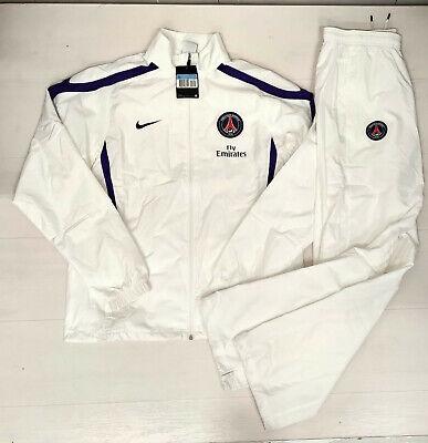 6394 Nike Paris Saint Germain Football Tracksuit Man   eBay