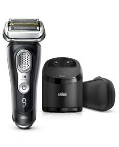 New-Braun-Series-9-Latest-Generation-Wet-amp-Dry-Electric-Shaver-With-Clean-amp-Char