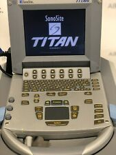 Sonosite Titan Portable Ultrasound Machine With L38 Linear Array Probe Transduce