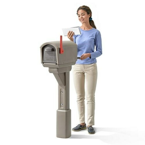 Step2 MailMaster Express Mailbox Residential Mailbox Mocha