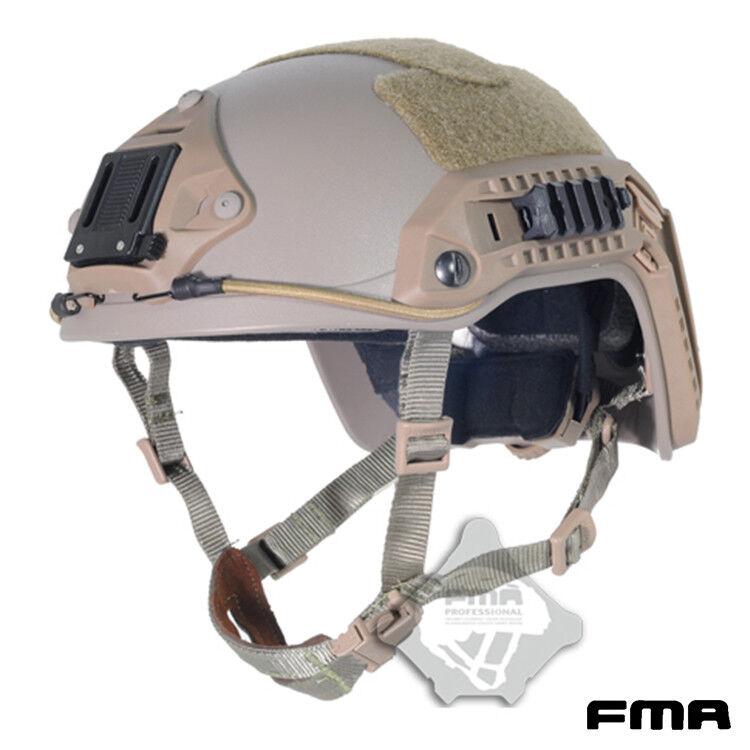 FMA Airsoft casco Maritime casco casco táctico ABS con NVG Sudario militar