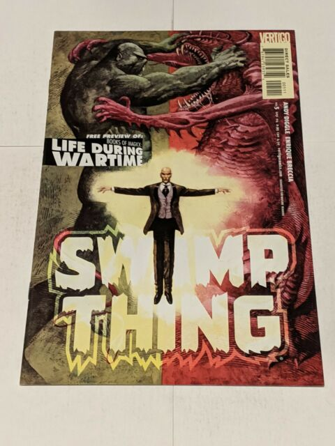 Swamp Thing #5 September 2004 DC Comics Diggle Breccia
