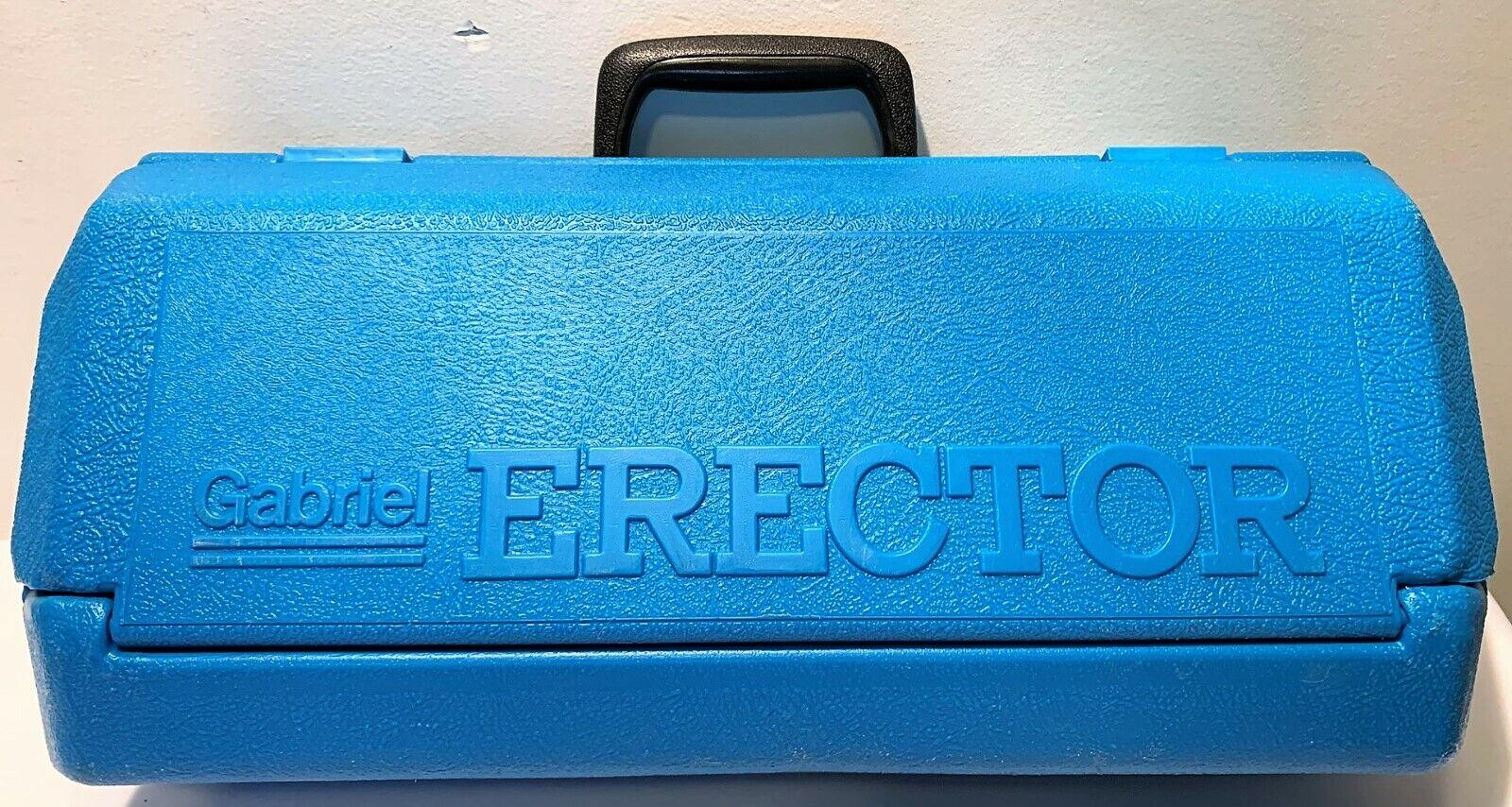 Vintage Gabriel Erector Set in bluee Case FREE SHIPPING