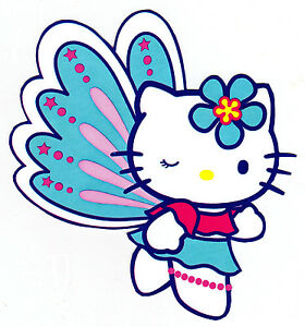 Hello kitty butterfly. Winking wall safe