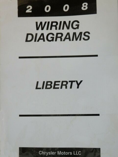 2008 Jeep Liberty Complete Factory Wiring Diagrams Manual