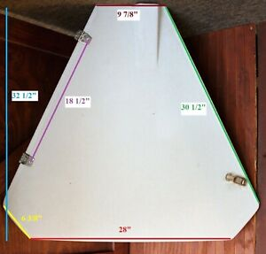 Details about Catalina 34 Sailboat Anchor Hatch Compartment Bow Cover  Fiberglass Hinged Door