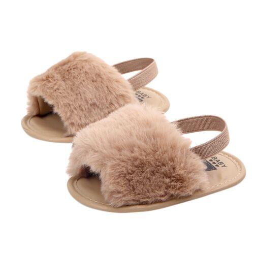 Newborn Infant Baby Lettre massif floqué Doux Sandales Slipper Chaussures De Loisirs Childre