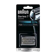 BRAUN Series 7 Cassette 70S Replacement Silver 9782 790cc 790cc 3 4 5 7 795cc 3