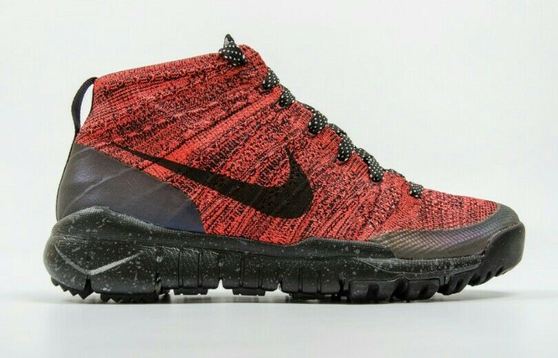 Nike Flyknit Trainer Chukka FSB Women's US 8 Bright Crimson Black 805093-603 NEW The most popular shoes for men and women