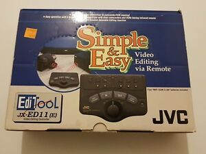JVC-JX-ED11-e-Simple-amp-Easy-controlador-remoto-edicion-de-videos-infrarojo-NEW