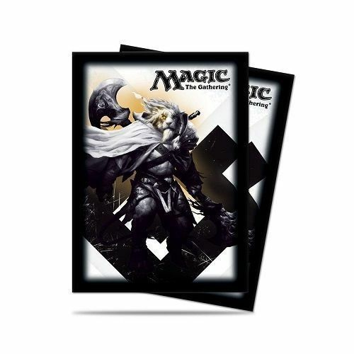 Official Ultra Pro Magic the Gathering MTG M15 Ajani Deck Protector Sleeves 80ct