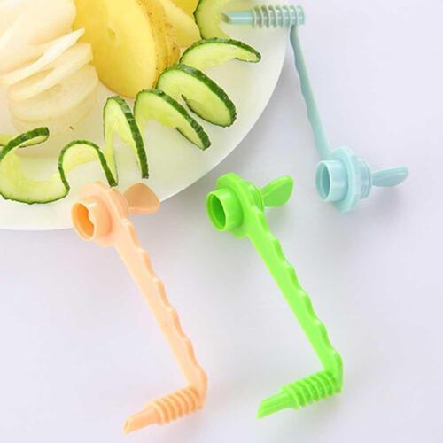 Obstgemüseschäler Kartoffel-Spiralschneider-Küchenwerkzeugbudget schneidet beste