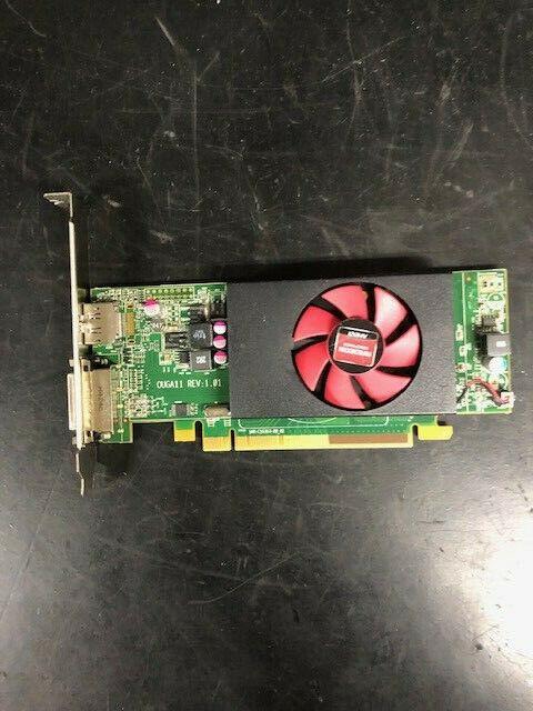 (Lot of 4) Full Height DELL AMD Radeon Video Card Display Port DVI 1GB Mod C553