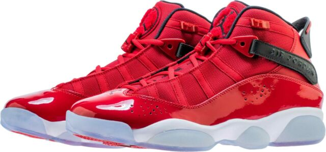 super popular af331 e9add Nike Air Jordan 6 Rings Men's Sneaker Gym Red/White/Black 322992-601