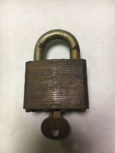 Vintage Master Lock No 5 Short Shackle W Original Matching Numbers Key A103 Ebay
