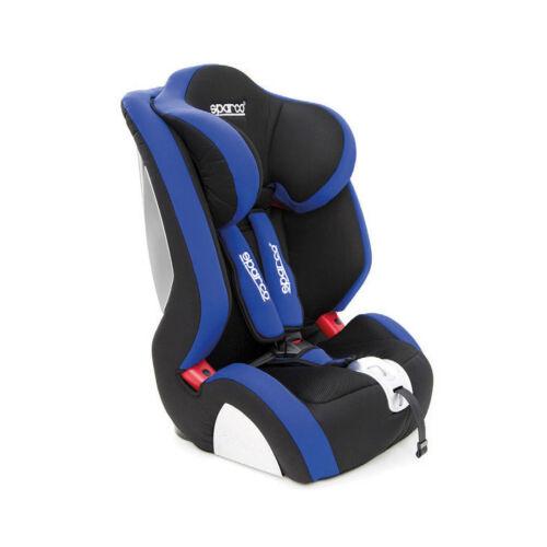 9-36 Kg 19-79 lb Italie SPARCO F1000K Bleu Siège Enfant