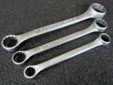 Vintage Craftsman 3pc Sae Stubby Short Box End Wrench Set 4365 Made In Usa