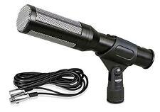 Pyle PDMIC35 Electret Condenser Shotgun Microphone with16 Feet XLR to 1/4...
