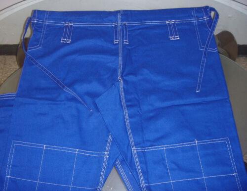 BLUE//WHT 100/% Cotton Preshrunk Free BJJ Belt. Authentic Jiu Jitsu Gi for Mens