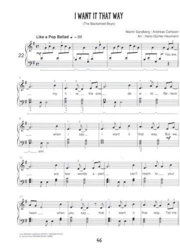leicht leichte Mittelstufe Klavier Noten : Piano Kids POP FUN HEUMANN