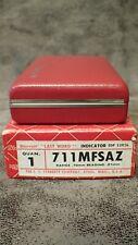 711 Mfsaz Starrett Last Word Dial Test Indicator 07mm Range 0 35 0 001mm