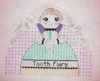 """KW 6082 /""""Martha/"""" by TS Designs HP Hand Painted Needlepoint Canvas"""