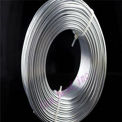 1 /1.5 / 2mm Durable Exquisite Aluminum Wire Jewelry Making Craft Wrap 2Meter