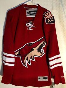 newest 73ce6 209e3 Details about Reebok Premier NHL Jersey Arizona Coyotes Team Burgundy sz M