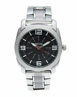 KENNETH COLE REACTION BLACK DIAL TWO-TONE ST. STEEL MEN'S WATCH 10020325 NEW