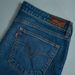 Vintage-Levi-Jeans-Demi-Curve-Blue-Straight-Zip-Fly-Women-039-s-LabelW30-W-33-L-28