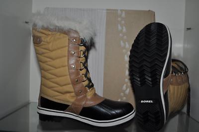 Insulated Boots in Black NIB YOUTH Sorel Tofino II Waterproof