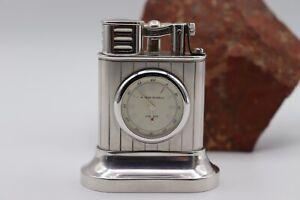 Alfred-Dunhill-Lungitude-Lighter-Tischfeuerzeug-Uhr-Limited-Edition-sehr-gut