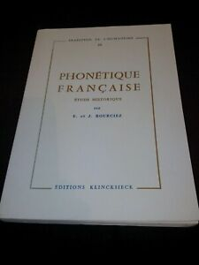 Phonetique-francaise-Etude-historique-E-amp-J-Bourciez-Klincksieck-1989