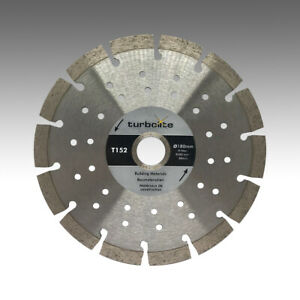 Marcrist-TurboLite-T152-180mm-x-22-23mm-Diamant-Trennscheibe-Beton-Granitborde
