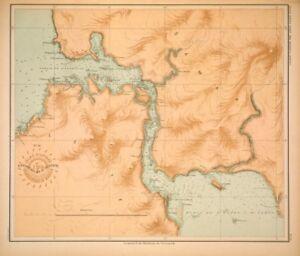 PHILIPPINE-ISLANDS-LEYTE-SAMAR-STRAITS-1899-Original-Antique-Map