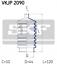 Faltenbalgsatz Lenkung für Lenkung Vorderachse SKF VKJP 2090