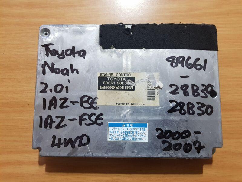 Toyota Noah 2.0i 1AZ-FSE 2000-2007 FUJITSUTEN ECU part#89661-28B30