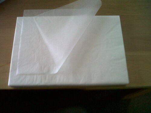 20 x feuilles de 18 x 28 imperméable aux graisses papier