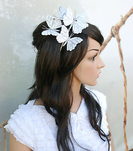 'HEAVENLY BUTTERFLY' BRIDAL OR CASUAL WEAR HEADBAND