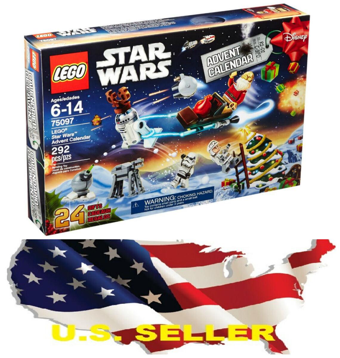 NEW LEGO 75097 Star Wars Advent Calendar Building Kit 292 PCs READY TO SHIP