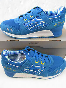 Asics Shoes Shop UK Asics Gel Lyte Iii Unisex Trainers H40Nq 4949 Sneakers Shoes
