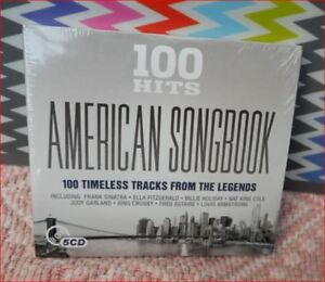 5xCD-New-Freepost-034-100-Hits-American-Songbook-034-Sinatra-Fitzgerald-Peggy-Lee