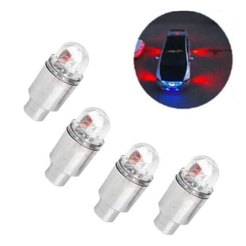 4x LED Dragonfly Car Wheel Tyre Decoration Tire Air Valve Stem Caps Light  Lamps
