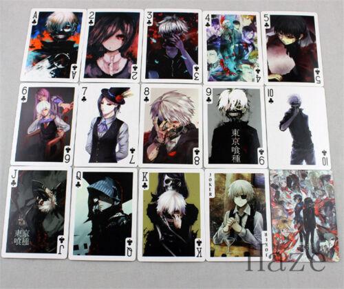 New Tokyo Ghoul Cosplay Anime Malerei Spielkarten Poker 54ps