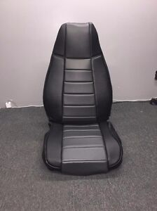 Jeep Wrangler Yj Gray Custom Seat Covers Front Amp Rear Syn