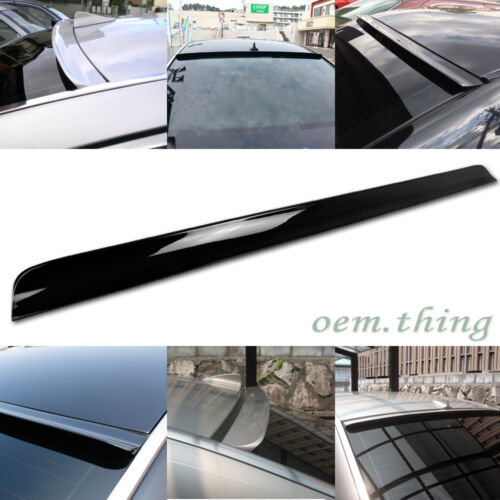 PAINTED For Mercedes benz E-CLASS W211 LCI E350 E220 ROOF WINDOW SPOILER 06-08